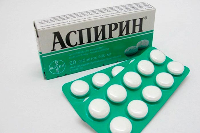 Аспирин от плесени на одежде