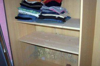Плесень в шкафу бельевом