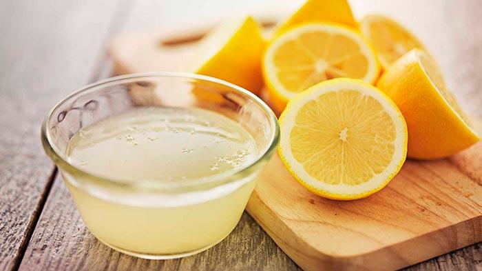Сок лимона от плесени на одежде