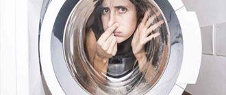 Плесень и запах в стиральной машинке